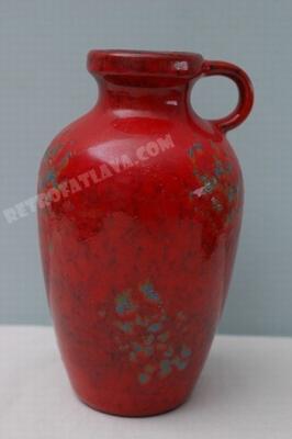 Jasba handled vase