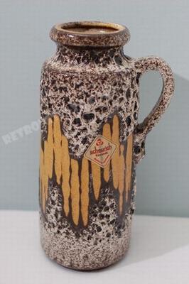 Scheurich handled vase - decor Lore