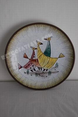 Kellinghusen Fayencen wall plate