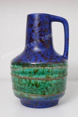 VEB Haldensleben handled vase