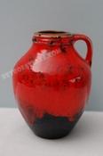Carstens handled vase